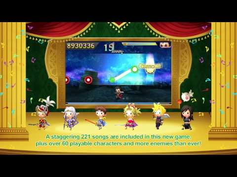 THEATRHYTHM FINAL FANTASY CURTAIN CALL – Announce Trailer