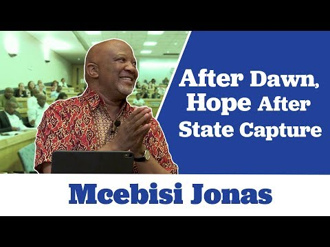 Mcebisi Jonas Encourages Reform in his book 'After Dawn Hope after State Capture'