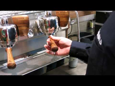 Work on Slayer Espresso Machine at % Arabica