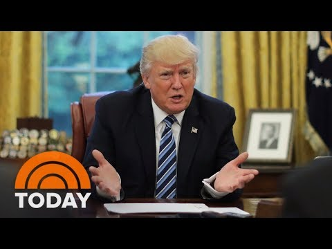 President Trump Blames Democrats For Government Shutdown | TODAY