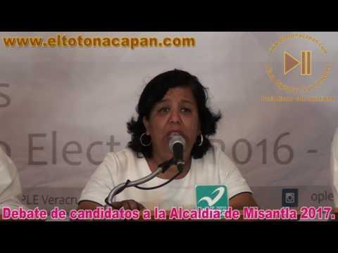 Debate de candidatos a la Alcaldía de Misantla 2017