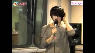 Download Lagu Heechul singing 그대가, 그대를-이승환 110613 Kim Heechul Young Street Mp3