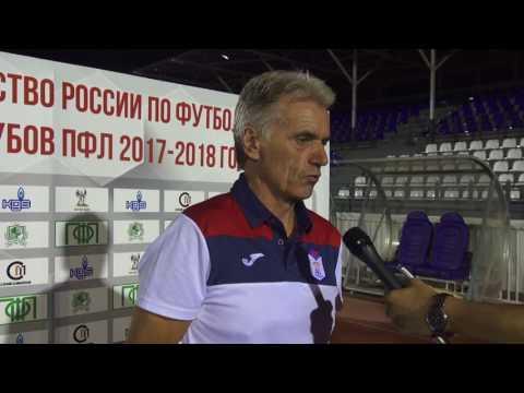 Владимир Зиновьев: Результатом доволен, содержание игры несколько не устраивает