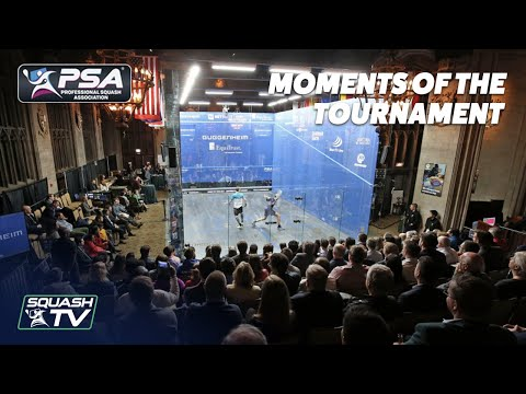 Squash: Windy City Open 2018 - Moments of the Tournament
