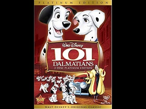 101 Dalmatians: 2 Disc Platinum Edition 2008 DVD Menu Walkthrough