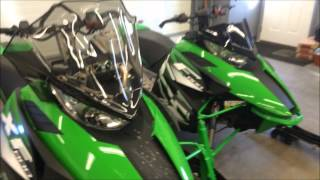 8. Side by Side Comparison of the Arctic Cat XF800 and F800