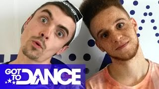 Chris&Wes' Brain Box Quiz With ThatcherJoe | Got To Dance 2014