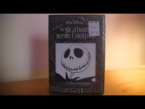 The Nightmare Before Christmas - DVD Unboxing