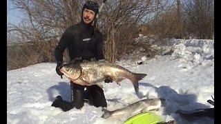 Зимняя охота на водохранилищах ч.2 / Подводная охота Александр Кочубей