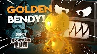 I Bought GOLDEN BENDY | Bendy Nightmare Run