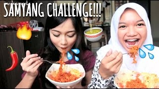 Video SAMYANG SPICY KOREAN NOODLES CHALLENGE!!! (HALAL) MP3, 3GP, MP4, WEBM, AVI, FLV Oktober 2017