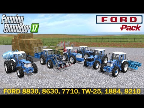 Ford Pack Farming simulator 17 v1.0