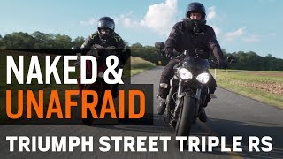 1. Naked & Unafraid - Evolution of the Triumph Street Triple RS at RevZilla.com