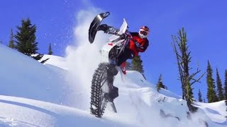 9. Ronnie Renner Snow Biking in Idaho Backcountry