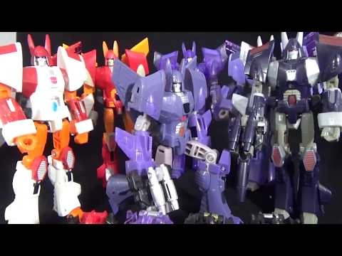 Transformers Review of Hasbro's Universe Cyclonus