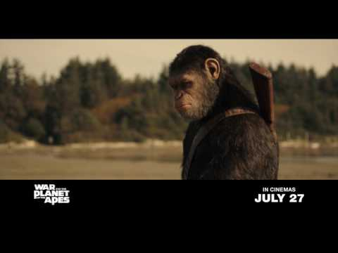 WAR FOR THE PLANET OF THE APES | Official Trailer #2 | In Cinemas July 27, 2017
