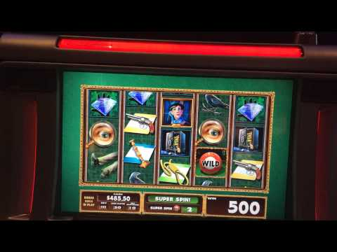 CLUE : PROGRESSIVE LINE HIT – BIG WIN – WMS SLOT MACHINE