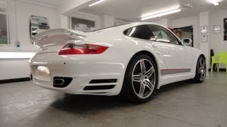 Porsche 911 Turbo Vinyl Wrap