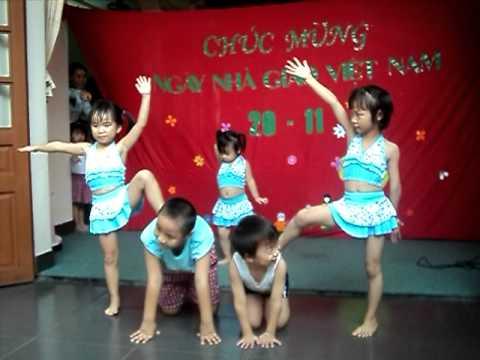 Nhảy Aerobic - Mầm non tư thục Sa Kê