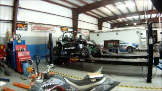 6. Horsepower Solutions' 2012 Arctic Cat Wildcat 1000 Stock Dyno