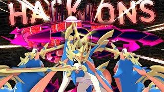 PURE HACKMONS IS WILD! 3 ZACIANS AND ETERNAMAX ETERNATUS? Pokemon Sword and Shield by PokeaimMD