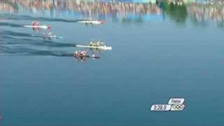 Watch an intense race to the finish in the men's canoe/kayak C2 1000M event at the Beijing 2008 Summer Olympic Games.http://www.olympic.org/canoe-kayak-flatwater-c-2-1000m-canoe-double-menhttp://www.olympic.org/beijing-2008-summer-olympics