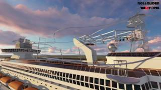 Rollglider Cruise Ship Concept