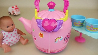 Video Baby Doll pot house toys and Ambulance clinic play MP3, 3GP, MP4, WEBM, AVI, FLV Desember 2017