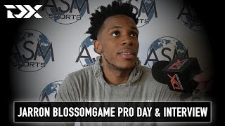 Jaron Blossomgame Workout and Interview