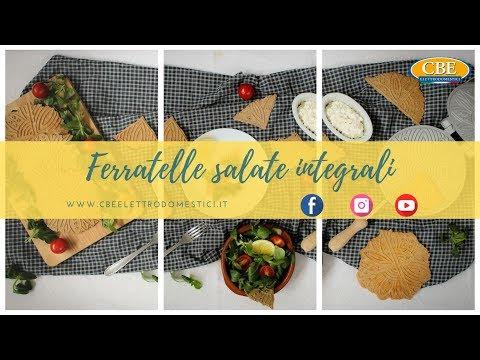 Ferratelle salate Integrali. Biscottiera n. 8030100