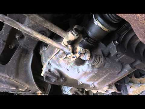 How to do Mig/Mag welding repair to car broken gear stick