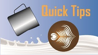 Video 6 Quick Tips For Latte Art MP3, 3GP, MP4, WEBM, AVI, FLV Agustus 2018