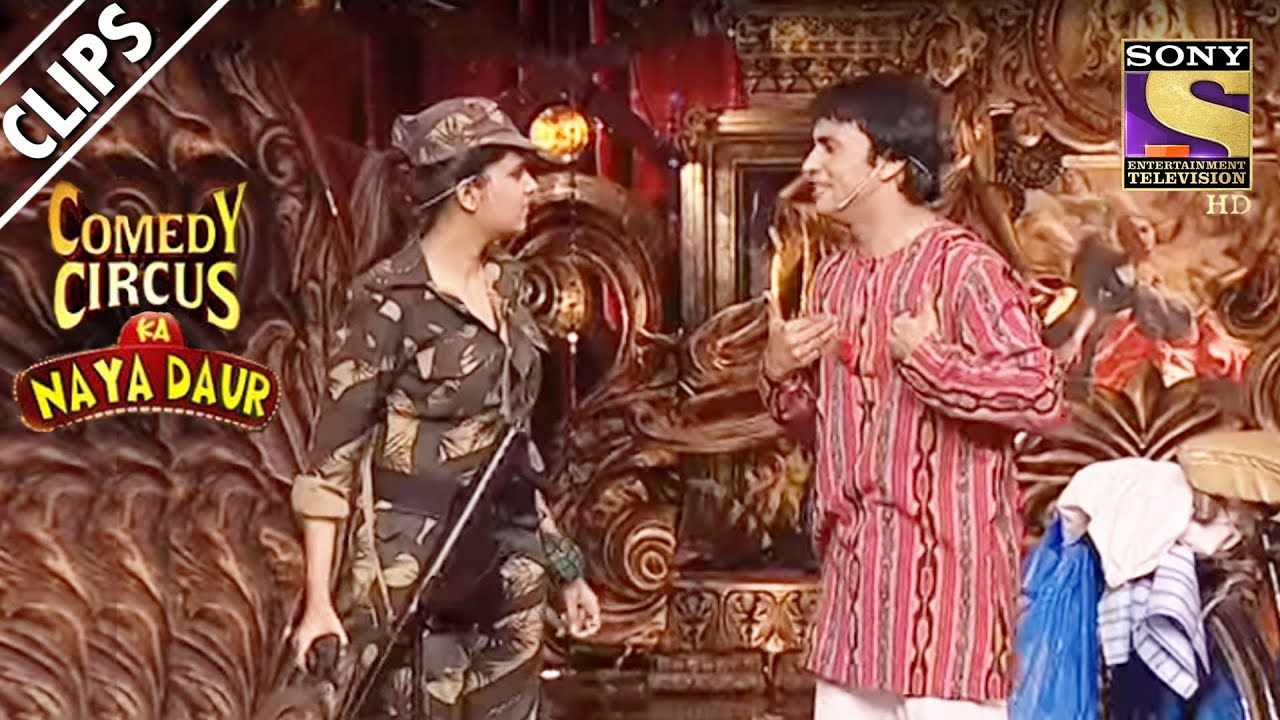 Rajiv Helps Sugandha Fight A Battle | Comedy Circus Ka Naya Daur