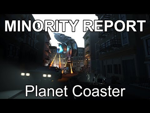 The Minority Report Experience - Planet Coaster