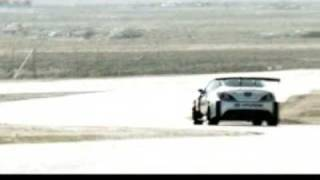 Rhys Millen's 2009 Formula D Hyundai Genesis Drifting