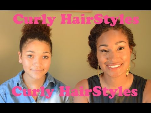 How to: Curly Hair Styles – Updo – Jonie Raquel