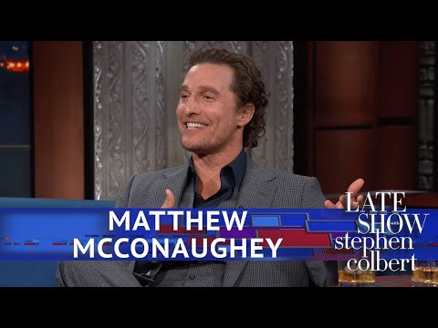 Matthew McConaughey Doesn't Remember Going Full Frontal