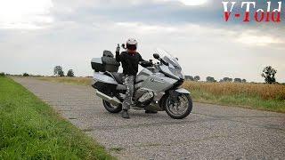 9. Riding the BMW K 1600 GTL