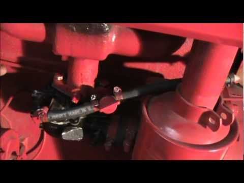 how to check oil in farmall super c