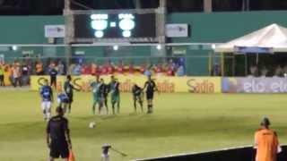 Gol de Cristaldo -  Palmeiras x Vitória da Conquista