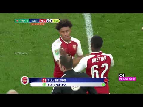 Arsenal Vs Norwich City (2-1) - All Goals & Highlights - LEAGUE CUP 24/10/2017 HD