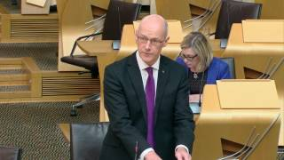 Scottish Government Debate: Education Governance Next StepsS5M-06376 John Swinney: Education Governance Next Steps—That the Parliament notes thepublication of Education Governance: Next Steps, which sets out proposals for the reform ofschool education; further notes the emphasis that these proposals place on empowering schoolsand teachers; acknowledges the need to support schools and teachers through the provision ofenhanced career and development opportunities, and strengthened improvement support,including access to expert, peer-led, professional help, backed by resources; recognises theimportance of not burdening schools and teachers with unnecessary bureaucracy or workload aspart of these reforms, and calls on the Scottish Government to engage with all parties andstakeholders, including parents and young people, in continuing to develop these plans.Published by the Scottish Parliament Corporate Body.www.parliament.scot  //  We do not facilitate discussions on our YouTube page but encourage you to share and comment on our videos on your own channels.  //  If you would like to join in our conversations please follow @ScotParl on Twitter or like us on Facebook at www.facebook.com/scottishparliament