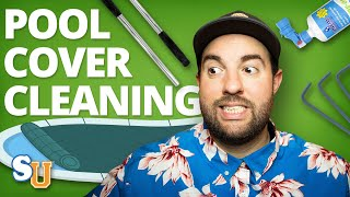 How to Remove and Clean your POOL SAFETY COVER   Swim University