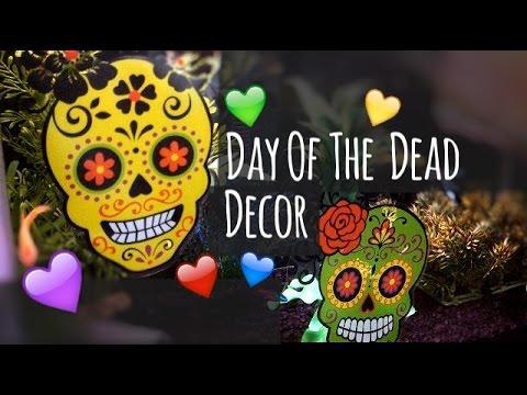 Day of the Dead- Día de los Muertos Tank Decor