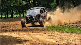 3. CanAm Maverick X3 MAX, XRS Turbo Rip on our UTV SXS Track!