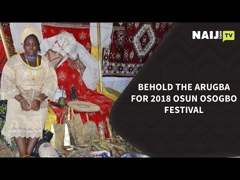 Osun Osogbo Festival - Behold the 'sacred' Arugba preparing for 2018 | Legit TV