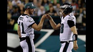 Eagles' Doug Pederson explains Carson Wentz decision, Josh McCown