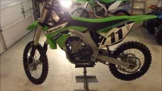 9. 2011 Kawasaki KX450f $3500