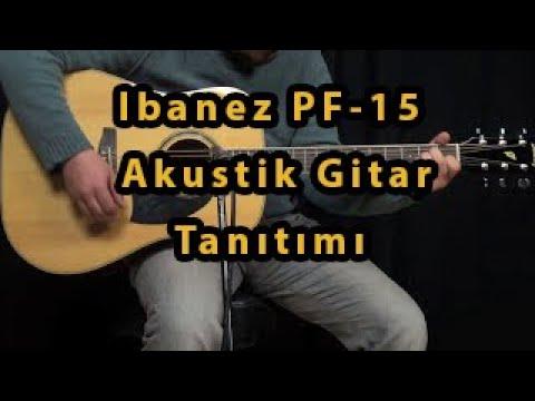 Đàn ACOUSTIC GUITAR IBANEZ PF15-NT