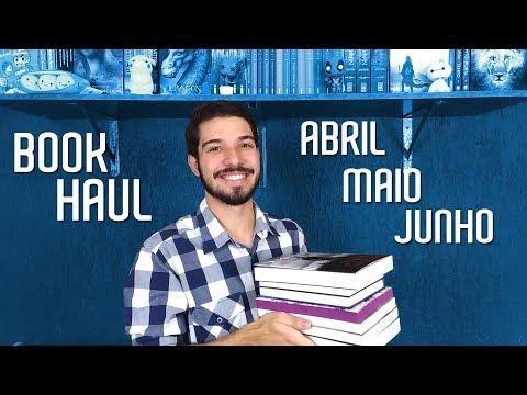 NOVOS NA ESTANTE (2º Trimestre 2018) | Book Haul | O Refúgio